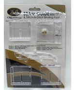 """Martelli Stich-n-Ditch Binder Foot with 4 fences, adjustable 1/4"""" to 1"""" ... - $24.55"""