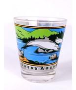 "Chicago Shedd Aquarium Dolphins Seals Otters 2.25"" Collectible Shot Glass - $7.65"
