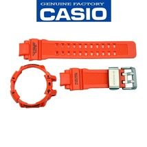 Genuine Casio G-Shock  GWA-1100R-4A Orange Watch band & Bezel Rubber Set - $102.95