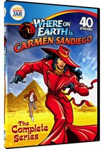 Where on Earth is Carmen Sandiego Complete Series DVD Set TV Show Collec... - $23.75