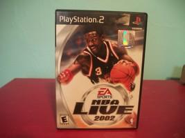 NBA Live 2002 PlayStation 2 Game - $6.29