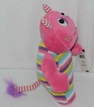 GANZ Brand H12598 Pink Multi color Striped Knit Wit Monster image 2