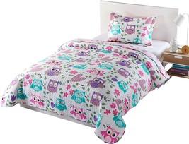 MarCielo 2 Piece Kids Bedspread Quilts Set Throw Blanket For Teens Boys ... - $90.54