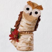2018 Hallmark Birch Branch Owl Ornament - $15.83