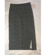 14th & Union Women's Sz Medium Grey Midi Charcoal Heather Office Career ... - $16.64