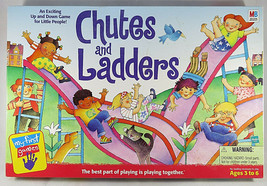 Vintage Chutes And Ladders Game 1999 MY FIRST GAME Milton Bradley Hasbro - $15.00