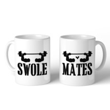 Swole Mates 11oz Matching Couple Gift Mugs For Workout Gym Lovers image 2