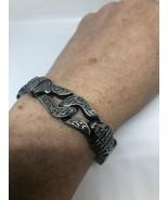 Unisexe Hommes Argent Acier Inoxydable Gothique Motocycle Bracelet - $94.40