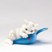 Charming Purrsonalities Have I Got a Scoop for You Cat Figurine Enesco 2... - $13.96