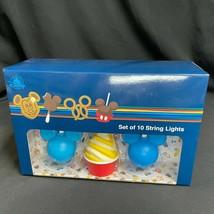 Disney Parks String Lights Set Iconic Park Treats Food 10 Lights Mickey ... - $37.99