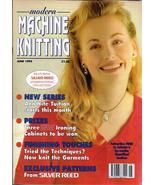 Modern Machine Knitting Jun 1994 Magazine Snakes and Ladders pattern  - $7.99