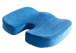 PANDA SUPERSTORE Blue Car Seat Cushions Comfort Foam Seat Cushion Memory Foam Cu image 2