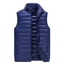 Brand men's vest Large Size 3XL Ultra Light Down Vest men Plus Duck Down... - $46.16