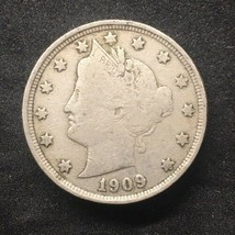 (1) 1909 Liberty V Nickel Fine Full Liberty - $8.99