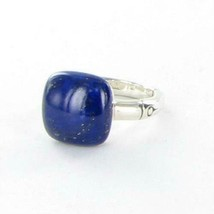 John Hardy Bamboo Orb Ring with 14mm Lapis Sterling Silver Sz 7 NWT $595 - $421.95