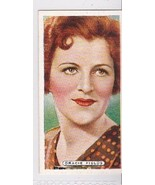 GRACIE FIELDS 1935 ARDATH TOBACCO CIGARETTE CARD FILM, STAGE & RADIO STARS - $3.37