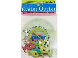 Eyelet Outlet Fish Quicklets, 20 Pieces