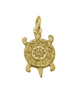 SALE Authentic 24K Gold Plated Turtle Spirit Symbol Animal creature tote... - $19.70