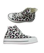 Converse Chuck Taylor All Star HI Lift Platform Leopard Size 10 Womens 5... - $64.30