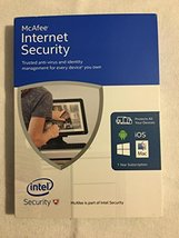 McAfee 2016 Internet Security Unlimited Devices - $11.85