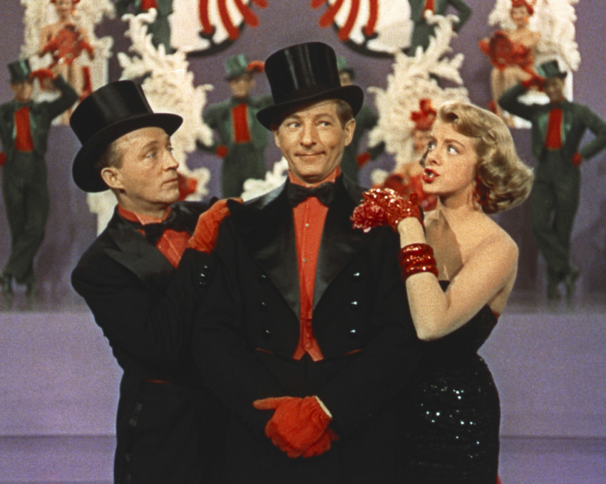 Show full-size image of White Christmas Danny Kaye Rosemary Clooney Bing Crosby 12x18  Poster
