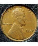 1937 Lincoln Wheat Penny EF #188 - $0.89