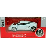 Lamborghini Galiardo White LP560-4 Welly Nex 1:39 Scale - $19.49