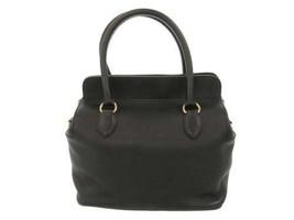 HERMES Toolbox 26 Evercolor Black Handbag Shoulder Bag France #A Authentic - $5,281.60
