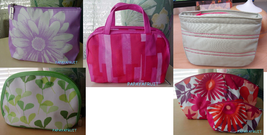 Clinique Assortment of Colorful Cosmetic Makeup Case Bags choose - $7.91+