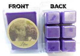 Lilac 3.2 Ounce Pack of Soy Wax Tarts (6 Wax Cubes Per Pack) - Scent Bri... - $3.49