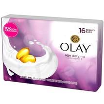 Olay Age Defying Beauty Bars Bath Bar with Vitamin E 16 Count - $21.49