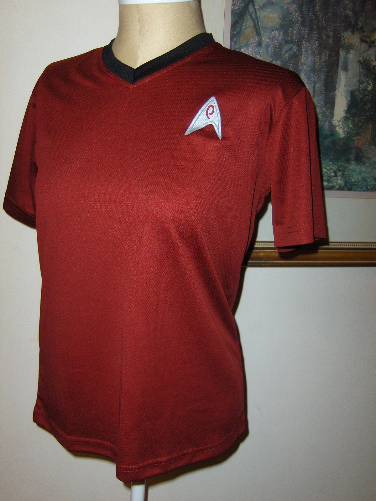 Kellogg's Star Trek Red T-Shirt Unisex Size Small  2009