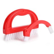 Cleaner Brush Tile Joint Cleaning Scrubber Brush with Nylon Bristles Set... - $14.99
