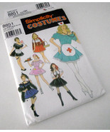 Pirate Maid Nurse Costume Simplicity 8851 Female Lady Adult Halloween NEW - $17.81