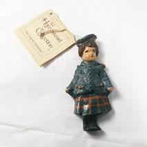 Girl Ornament Figurine Homestead Collection Ike and Sandy Spillman 1980 - $15.00