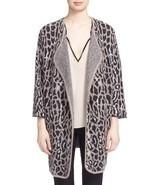 NWT Joie 'Berit' Print Open Front Wool Blend Cardigan $398.00 Mult Sz - £143.71 GBP