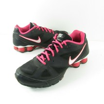 Nike Womens Shox She Monster 487864-016  Black Pink Running Shoes Size 9.5 - $90.00