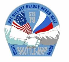 STS-79 Nasa Atlantis Sticker M553 Space Program - $1.45+