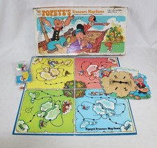 Vintage POPEYE'S Treasure Map Game Board Game 1977 Whitman USA - COMPLETE - $36.17