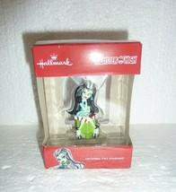 NIB Hallmark Christmas Ornament Monster High Frankie Stein Doll Figure  ... - $7.84
