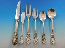 American Victorian by Lunt Sterling Silver Flatware Set for 8 Service 59 pieces - $2,950.00