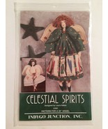 """Celestial Spirits Angel Pattern 1995 Uncut Indygo Junction 20"""" Two Style... - $8.00"""