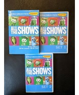 Veggietales All the Shows Vol 2 6 DVD 2000 - 2005 10 Shows Bob the Tomat... - $32.71