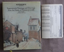 Sotheby's Paintings and Drawings Florence J Gould Estate w/ sales result... - $2.00