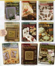 At Home with Needlework Zweigart Magazine Cross Stitch Holidays Hallowee... - $5.69+
