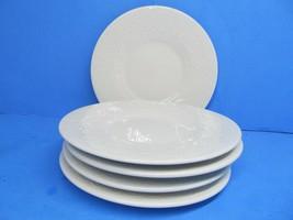 "Tabletops Unlimited Battenburg Lace 6 1/4"" Plates Set Of 5 Plates EUC - $19.59"