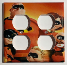 The Incredibles Family Light Switch Outlet duplex wall Cover Plate Home Decor image 4