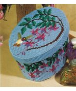 Plastic Canvas Hummingbird Bandbox Coasters Butterfly Kitchen Canisters ... - $9.99
