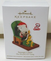 Hallmark Peanuts Gang Snoopy Claus 2011 Christmas Ornament - $19.75