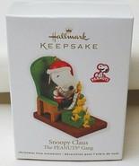 Hallmark Peanuts Gang Snoopy Claus 2011 Christmas Ornament - $19.75